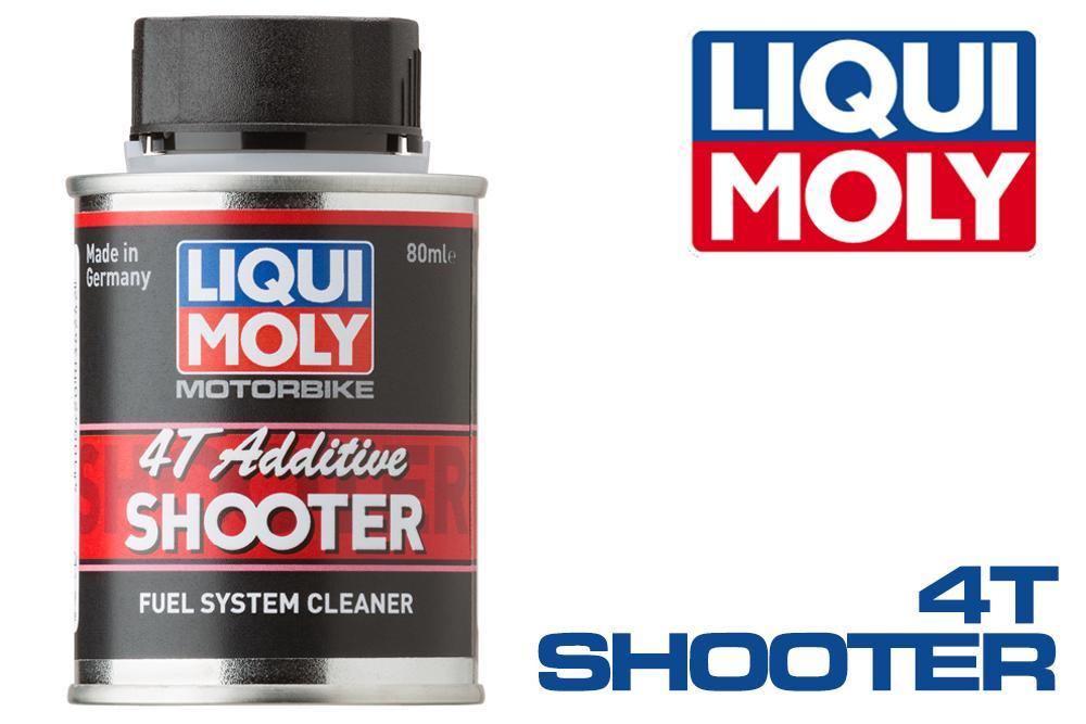 Liqui Moly 4T Additive Shooter – Carbon Cleaner dung tích 80ml giúp bảo vệ động cơ xe tối ưu